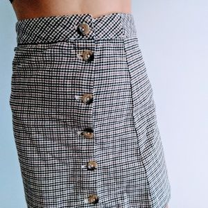 Plaid skirt new without tags